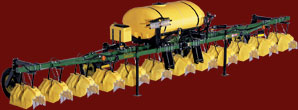 210 Over-Row Hooded Sprayer & Hoods